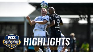 Philadelphia Union defeat NYCFC in MLS is Back, thanks to Bedoya's tally | 2020 MLS Highlights by FOX Soccer