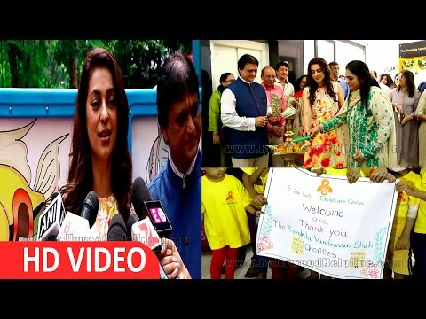 Juhi Chawla Interview At Inaugurate Cancer Initiative