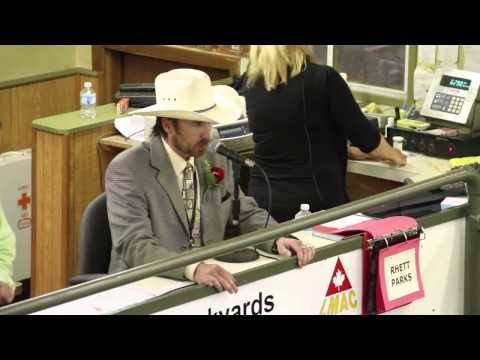 Auctioneer Rapping