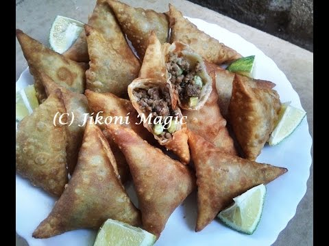 Samosa Recipe - How to Make Kenyan Samosas Part 1-Jikoni Magic