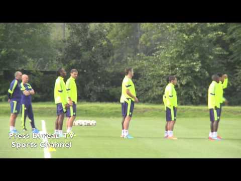 Chelsea - Chelsea Training Session.