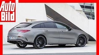 Zukunftsaussicht: Mercedes CLA Shooting Brake (2020) Details / Erklärung by Auto Bild