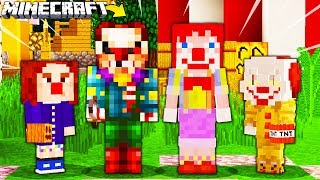 Video RODZINA KLAUNÓW W MINECRAFT || MINECRAFT RODZINA MP3, 3GP, MP4, WEBM, AVI, FLV September 2019