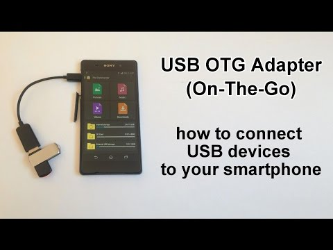 how to connect usb to xperia m