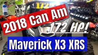 8. New 2018 Can Am Maverick X3 XRS