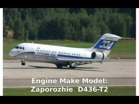 Tupolev Tu-334-100D  Commercial...