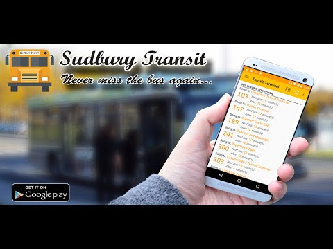Video of Sudbury Transit