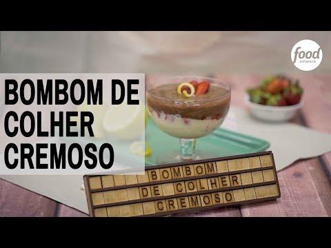 BOMBOM DE COLHER CREMOSO | COZINHA FOOD NETWORK