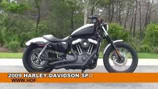 8. Used 2009 Harley Davidson Sportster Nightster Motorcycles for sale - St. Petersburg, FL