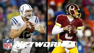 Is Kirk Cousins' Ranking Fair Compared to Andrew Luck? | Top 100 Players of 2016 Reaction Show by NFL Network