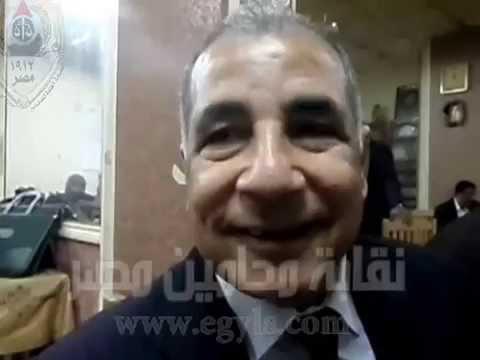 أمين .. لايجوز الحيلولة بين المحامى وآداء حق الدفاع