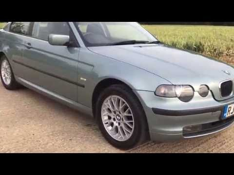2003 BMW 316ti SE COMPACT E46 HATCHBACK 1.8 MANUAL PETROL ENGINE VIDEO REVIEW