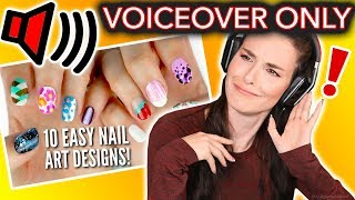 Video I Tried Following ONLY the VOICEOVER of a Cutepolish Nail Art Tutorial MP3, 3GP, MP4, WEBM, AVI, FLV September 2018