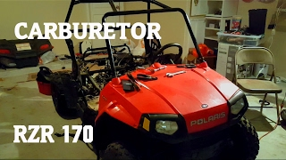 6. Where is the Carburetor on Polaris RZR 170 + More !