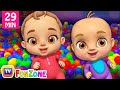 Download Lagu Johny Johny Yes Papa Ball Pit Show - ChuChu TV 3D Baby Songs & Nursery Rhymes for Kids Mp3 Free