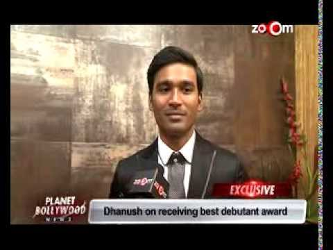 59th Idea Filmfare Awards 2014 | Dhanush wins the best debut award