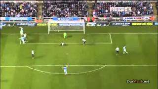 Newcastle United Vs Manchester City 0-2 Capital One Cup 30.10.2013