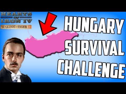 Hearts of Iron 4 Hungary Survival Challenge Waking the Tiger DLC_Magyarország, Budapest. Heti legjobbak