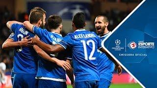 Com dois gols de Higuaín e duas assistências de Daniel Alves, Velha Senhora abre vantagem na partida da ida das semifinais da Liga dos Campeões.