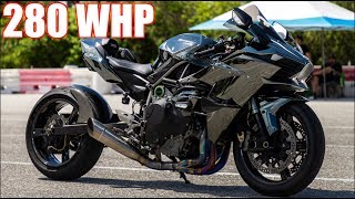 280HP Ninja H2 WALKS 1100HP Sequential Evo IX | 10,000RPM + 55PSI Acceleration! by  That Racing Channel