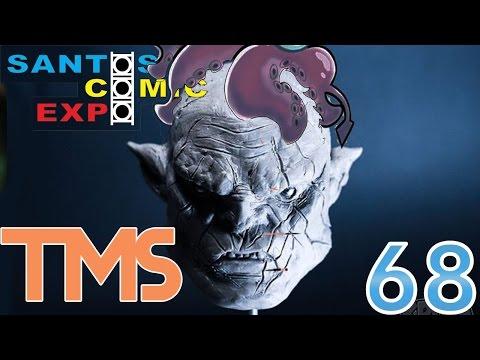 Esculpindo! - Santos Comic Expo 2014 fase 3 - The Mullets Show #68