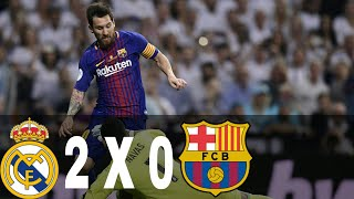 Karim Benzema Goal vs Barcelona - 16-08-2017 Barcelona vs Real Madrid 2-0 - Karim Benzema Goal (Supercup) 16/08/17 HD ...