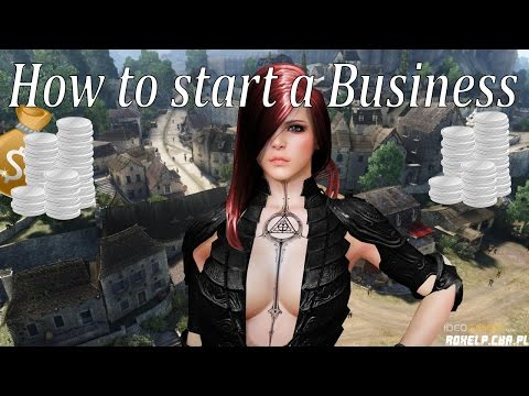 Black Desert - How to make a business! (NOOBS GUIDE)