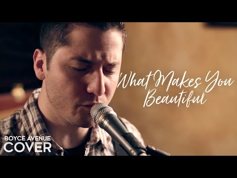 One Direction - What Makes You Beautiful (Boyce Avenue cover) on iTunes & Spotify Video