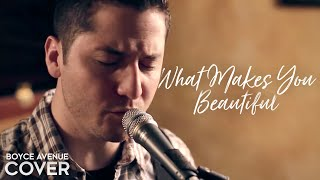 One Direction - What Makes You Beautiful (Boyce Avenue cover) on iTunes (X Factor)