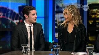 Nonton Zac Efron   Taylor Schilling Interview   The Lucky One   The Project  2012  Film Subtitle Indonesia Streaming Movie Download