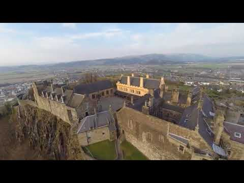 Castle And Royal Palace Stirling Scotland