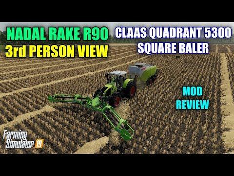 Claas Quadrant 5300 FC v1.0.0.1