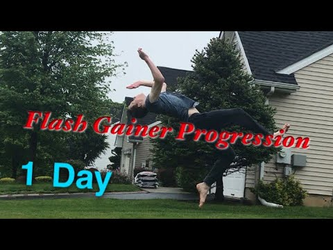 Gainer Flash Progression (Kick the Moon)-1 Day (видео)
