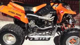 7. 2005 Polaris predator  500 Troy lee for sale