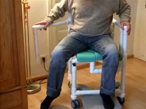Profi-Duschstuhl und Toilettenstuhl bei Demenz der Komfortklasse AAA