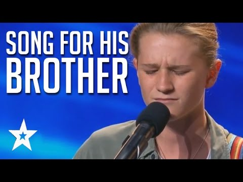 Brave & Emotional Song For His Brother | Fletcher Pilon Audition Australia's Got Talent
