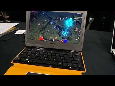 MWC 2013: AMD Temash Tablet Torchlight 2 Hands-on Review [PCGH]