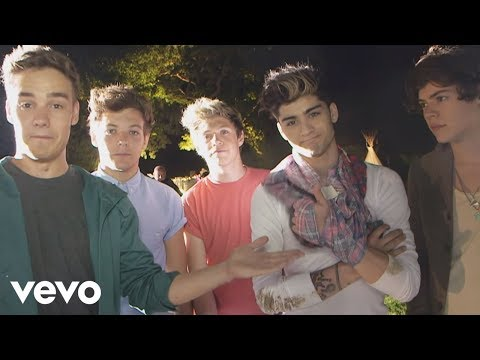 One Direction – Live While We're Young (Behind The Scenes)