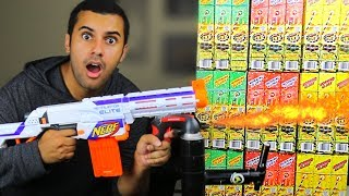 EXPERIMENT!! NERF FLAMETHROWER MOD VS 1000 SPARKLERS!!! DANGEROUS!! *MASSIVE EXPLOSION* In this video Marcus (ADHD) play with Nerf Gun a Flamethrower Attachment! in one of the stupidest ways ever! PLEASE GUYS!! NOBODY ATTEMPT THIS AT HOME!MY GEAR!! -Camera US: http://amzn.to/2qk2v5oMicrophoneUS: http://amzn.to/2qnR0qMLens US: http://amzn.to/2quwoMNSD CardUS: http://amzn.to/2pNwnY4Become My Friend On Social Media :D Snapchat - MarcusJXDTwitter - https://twitter.com/ADHDsWorldInstagram - https://www.instagram.com/adhdsworld/WANT TO SEND FAN MAIL??? I OPEN EVERY ITEM ON MY VLOG CHANNEL!!!P.O. Box Adress:Marcus JonesP.O. Box 1421Whittier, CA90609-1421