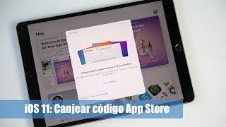 En este video mostramos cómo canjear un código promocional de la tienda de aplicaciones App Store en iOS 11. Para el video hemos utilizado el nuevo iPad Pro de 10,5''.Más información en: https://hablandodemanzanas.com/iphone-ipad-aplicaciones/como-canjear-codigo-promocional-app-store-tienda-aplicaciones-ios-11 Podéis seguirnos en: - Twitter: @hdmanzanas - Facebook: https://www.facebook.com/hablandodemanzanas - Google+: https://plus.google.com/+Hablandodemanzanas/posts - Podcast en iTunes: https://itunes.apple.com/es/podcast/podcast-hablando-manzanas/id990588968?mt=2
