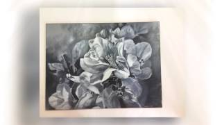Hidden Talent Art School: Student Floral Paintings II