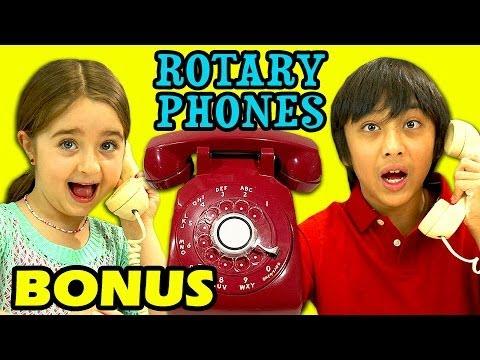 Kids React To A Rotary Phone