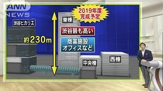 渋谷駅東棟工事始まる。ヒカリエより高い46階建てに(ニュース)