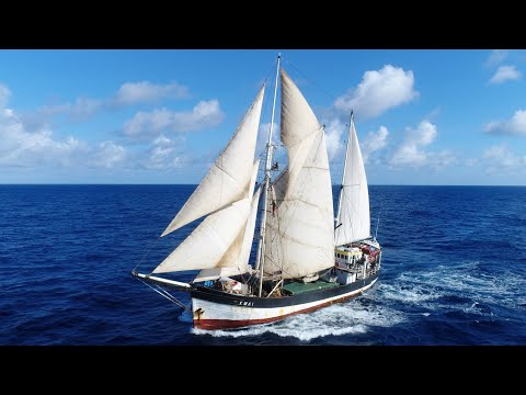 Traveling on Sailing Cargo Ship Kwai to the Most Remote Islands in the World