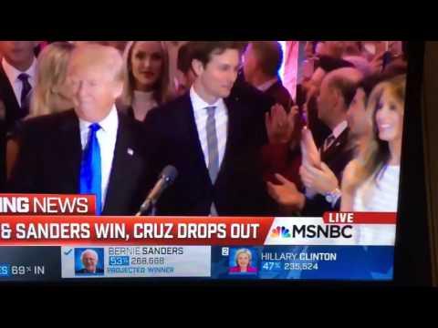 MSNBC's Chris Matthews Caught on Hot Mic Ogling Melania Trump