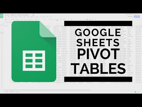 Google Sheets - Pivot Tables   Summarize by Year, Month or Quarter