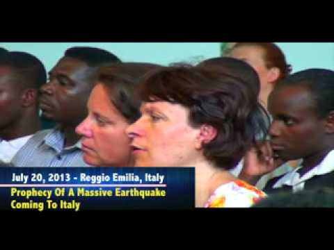 ITALY EARTHQUAKE PROPHECY SWIFTLY FULFILLED - Dr. Owuor