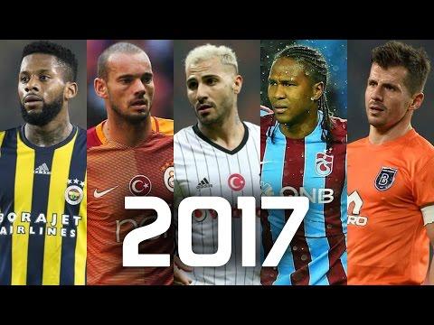 Süper Lig 2017 • Sezonun EN ŞIK Çalımları Ve Golleri • HD (видео)