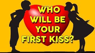 Download Video Discover The FIRST LETTER of Your FIRST KISS NAME   Love Personality Quiz MP3 3GP MP4