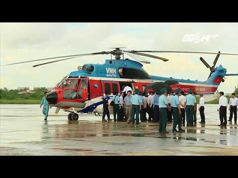 Thủ Tướng Nguyễn Xuân Phúc đi trực thăng thị sát ĐBSCL